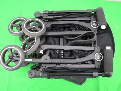 GB Monument Black Pockit Monument Black Folding Stroller Only