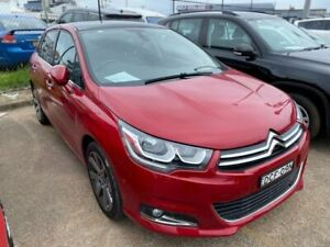 2015 Citroen C4 B7 MY15 Exclusive Red 6 Speed Sports Automatic Hatchback Wickham Newcastle Area Preview