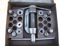 Sykes Pickavant brake pipe double flaring tool (Vintage 1970)