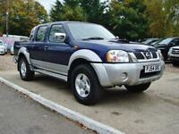 2004 NISSAN NAVARA 2.5 DI Double Cab Pick Up 4WD NO VAT