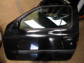 Renault Clio mk2 passenger door 3 door black