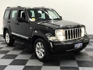 2012 Jeep Cherokee KK MY12 Limited Black 4 Speed Automatic Wagon Edgewater Joondalup Area Preview
