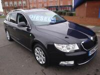 62 SKODA SUPERB TDI SE GREENLINE ESTATE DIESEL £30 ROAD TAX *LEATHER*
