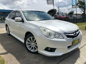 2010 Subaru Liberty B5 MY10 2.5i Lineartronic AWD Premium White 6 Speed Constant Variable Sedan Mulgrave Hawkesbury Area Preview