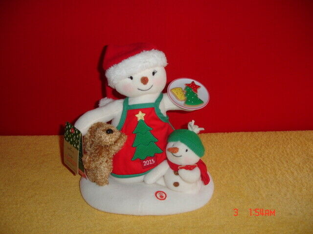 Hallmark 2015 Jingle Pals (TIME FOR COOKIES) Animated Sound/Motion Snowman