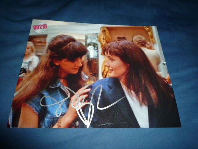 JENNIFER BLANC signed autograph 8x10 ( 20x25 cm ) In Person BEVERLY HILLS 90210