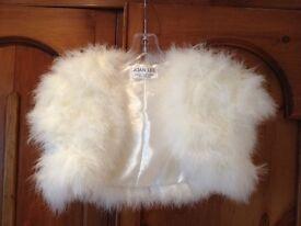 Feather shawl / shrug Size 10