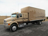 2004 STERLING low kms sleeper box truck mint
