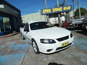 2007 Ford Falcon BF MkII XL (LPG) White 4 Speed Auto Seq Sportshift Utility Homebush West Strathfield Area Preview