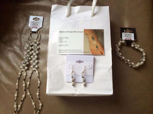 Foot Jewelry Set for Beach Wedding or Vacation