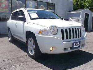 2010 JEEP COMPASS LIMITED !! SUNNROOF !! LEATHER !! LOADED