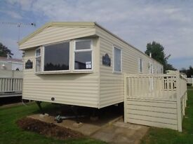 2013 3 bed double glazed static in north norfolk - includes decking!!