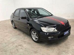 2003 Mitsubishi Lancer CG VR-X Black 4 Speed Sports Automatic Sedan Williamstown North Hobsons Bay Area Preview