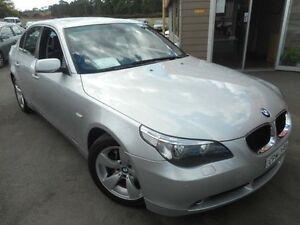 2005 BMW 530i E60 30i Silver 6 Speed Steptronic Sedan Edgeworth Lake Macquarie Area Preview