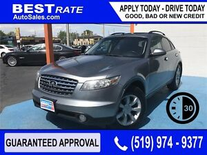 INFINITI FX35 - APPROVED IN 30 MINUTES! - ANY CREDIT LOANS
