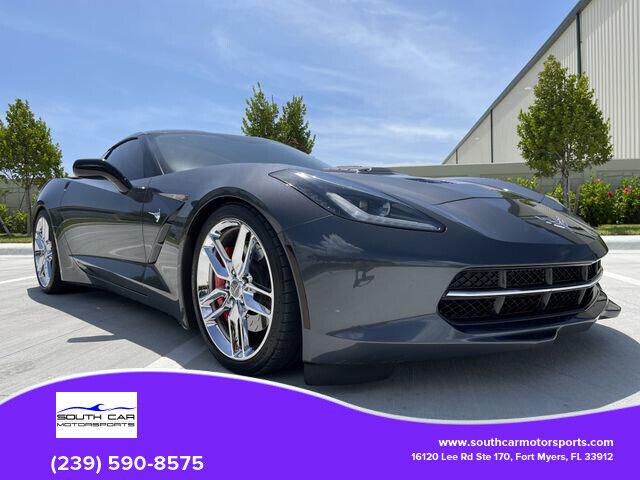 2014 Gray Chevrolet Corvette Stingray Z51   C7 Corvette Photo 1