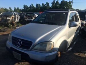 2001 Mercedes ML320 just in for parts at Pic N Save!