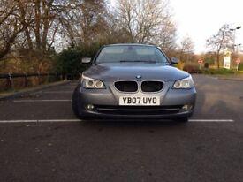 BMW 2007 SALOON BLACK LEATHER 2.0 DIESEL MANUAL