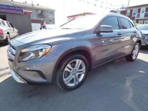2015 MERCEDES-BENZ GLA250 4MATIC (53,000 KM, CUIR, NAVI, FULL!!)
