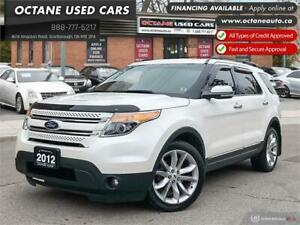 2012 Ford Explorer Limited Accident Free! Navi! Back up Camera!