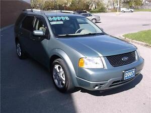 2007 FORD FREESTYLE LIMITED ** LEATHER ** LOADED ** CERTIFIED **