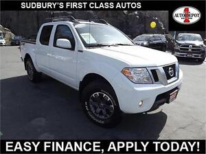 2017 Nissan Frontier 4X4!! PRO-4X!! NAV!! SUNROOF!! LEATHER!!