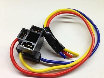 H4 3 Pin Hi Low Replacement Repair Bulb Holder Connector Plug Wire Socket