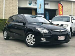 2010 Hyundai i30 FD MY11 SX Black 4 Speed Automatic Hatchback