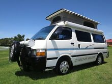 Toyota Hiace Discoverer Pop Top Camper – AUTO, LOW KMS, 5 SEATS Glendenning Blacktown Area Preview