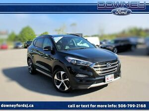 2017 Hyundai Tucson AWD LUXURY WITH PANORAMIC ROOF LEATHER HTD S