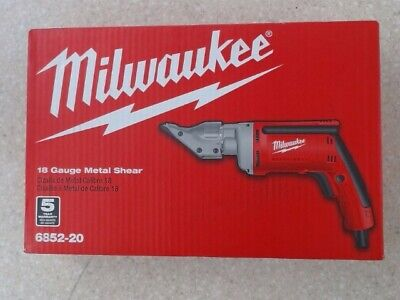 MILWAUKEE 18 Guage Metal Shear 6852-20 (HSP013498)