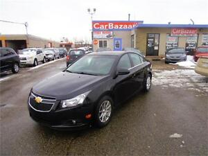 2012 CHEVROLET CRUZE LT 4 CYL SAVE $$$ ON GAS EASY PRICE FINANCE