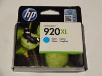 Original Hewlett Packard high yield ink cartridges 920XL - cyan and magenta