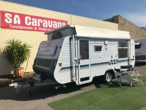 CRUSADER 17' POP TOP with AIR COND. and ANNEX WALLS Klemzig Port Adelaide Area Preview