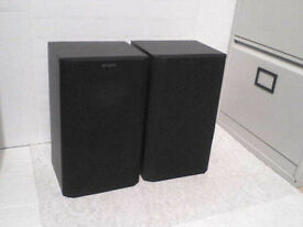 60W Sony Stereo Speakers - Heathrow