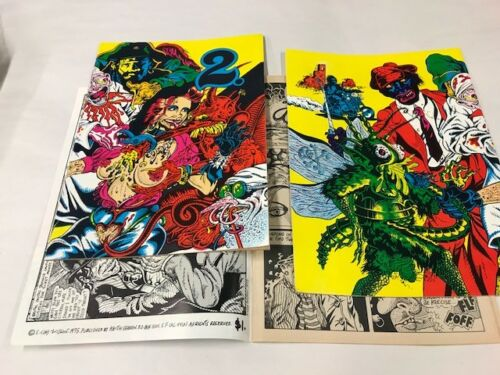 2  [Two] (1974, Keith Green) Clay Wilson. First Printing new old stock Condition