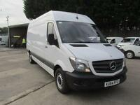 Mercedes-Benz Sprinter 313 Cdi LWB High Roof Van DIESEL MANUAL WHITE (2014)