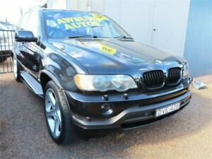 2002 BMW X5 E53 is Metallic Black Sports Automatic Wagon Minchinbury Blacktown Area Preview