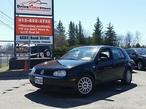 2007 Volkswagen Golf City 2.0 with MOONROOF/POWER GROUP/AC