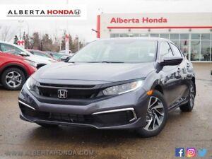 2019 Honda Civic Sedan EX. Eco. Sunroof. Heated Seats. Honda Sen