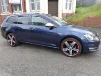 2013(63reg) V W Golf 1.6 TDi Estate Car £30 Road Tax £5995