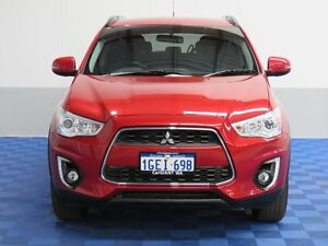 2015 Mitsubishi ASX XB MY15.5 LS (2WD) Red 5 Speed Manual Wagon East Rockingham Rockingham Area Preview