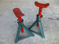 Halfords axle stands