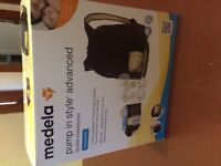 Never Used! Medela Pump in Style Advanced backpack