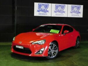2013 Toyota 86 ZN6 GTS Red 6 Speed Sports Automatic Coupe Albion Park Rail Shellharbour Area Preview