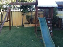 Swing Set and climbing wall Umina Beach Gosford Area Preview
