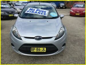 2012 Ford Fiesta WT LX PwrShift Silver 6 Speed Sports Automatic Dual Clutch Hatchback Kogarah Rockdale Area Preview