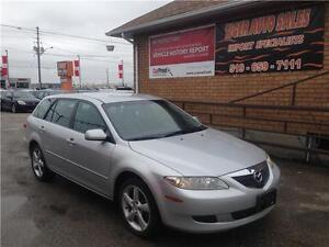 2004 Mazda Mazda6 S *****WAGON******LEATHER***SUNROOF***AUTO***