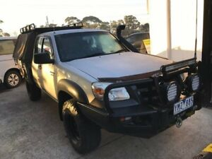 2011 Mazda BT-50 UP0YF1 XT Freestyle Silver 6 Speed Manual Cab Chassis Seaford Frankston Area Preview
