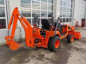 2012 KUBOTA BX25 TRACTOR LOADER BACKHOE